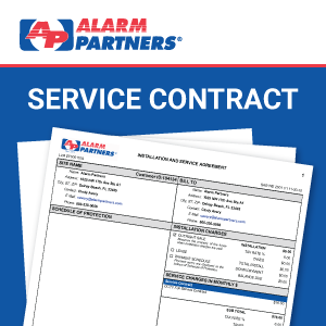 Security Service Agreements - Alarm Partners